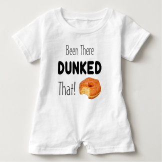 Been there Dunked That Baby Romper