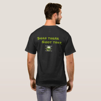 Been there - Shot that - NGPC Dark Mens T-Shirt