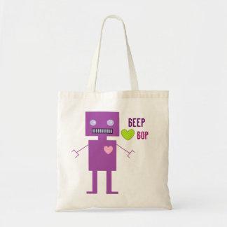 Beep Bop Tote Bag
