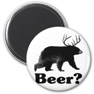 Beer? 2 Inch Round Magnet