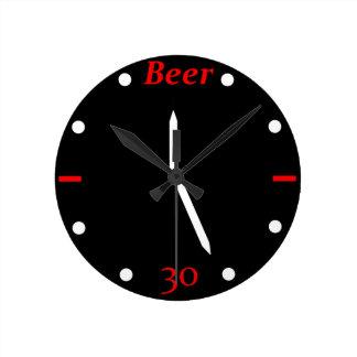 BEER 30 - Clock
