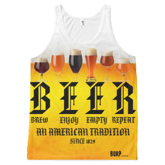 BEER All-Over-Print TANK TOP