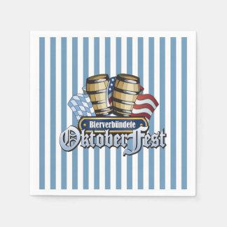 Beer Allies Oktoberfest Party Paper Napkins