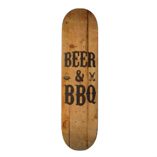 Beer and BBQ Skateboard
