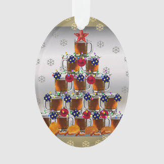 Beer and Chips Ornament
