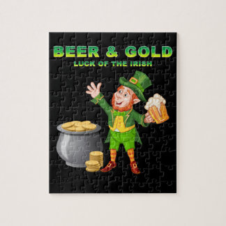 Beer and Gold For the Luck of the Irish Puzzle