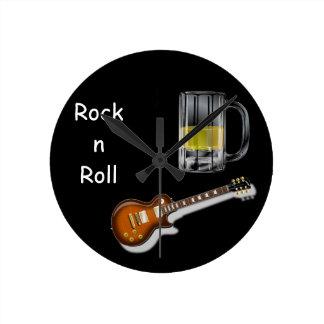 Beer and Guitar Clock