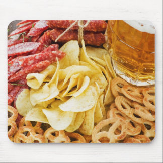 Beer And Snacks 2 Mouse Pad