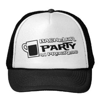 Beer Bachelor Party in Progress Trucker Hat