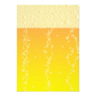 Beer Background Custom Announcement