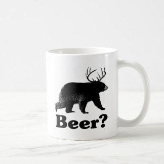 Beer? Basic White Mug