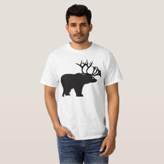 Beer Bear Dear Corns Caribou Funny Humor T-Shirt