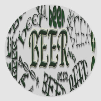 *bEeR*beer*BEER Sticker