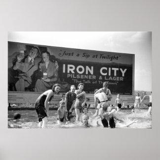 Beer Billboard, 1938 Poster