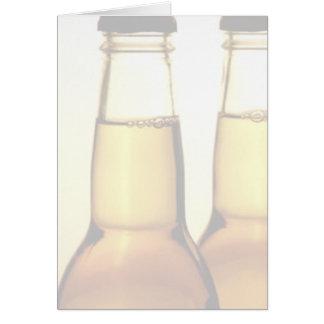 Beer Bottle Greeting Cards