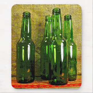 Beer Bottles Mousepads