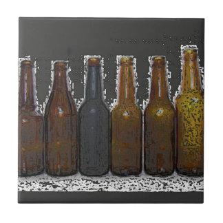 Beer Bottles Tiles