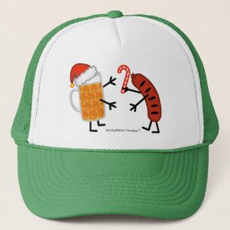 Beer & Bratwurst - Christmas Trucker Hat