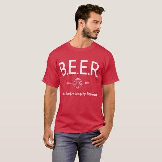 Beer Brew Enjoy Empty Repeat fun beer connoisseur T-Shirt