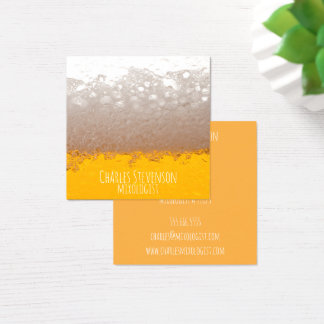 Beer Business Cards