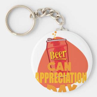 Beer Can Appreciation Day - Appreciation Day Keychain