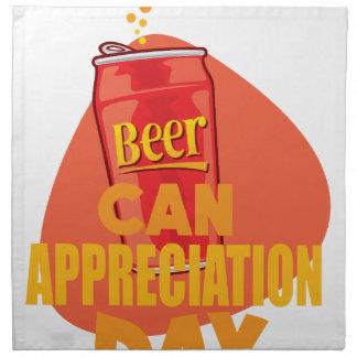 Beer Can Appreciation Day - Appreciation Day Napkin