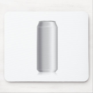beer can mouse pad