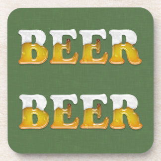 Beer Cheers Drink Coaster Alcohol