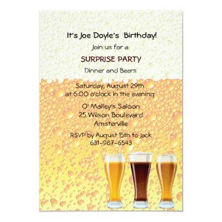 Beer Cheers Invitation