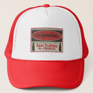 Beer Crafting In Progress Trucker Hat