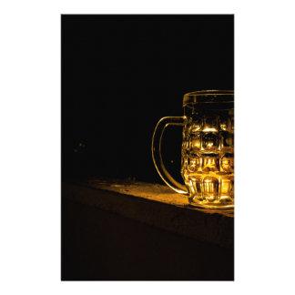 beer custom stationery