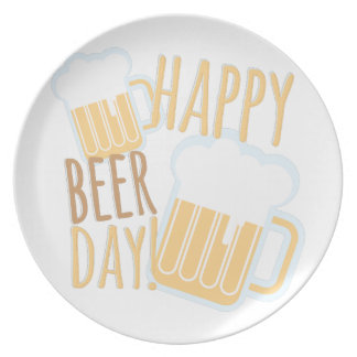 Beer Day Party Plates