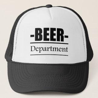 Beer Department Trucker Hat