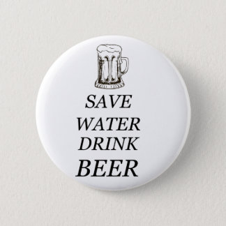 Beer Drink Food 2 Inch Round Button