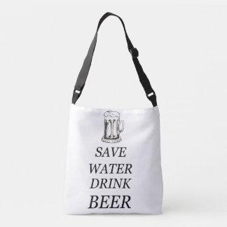 Beer Drink Food Crossbody Bag