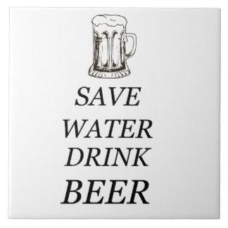 Beer Drink Food Tile
