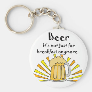 Beer Drinkers Mug and Sunrise Basic Round Button Keychain