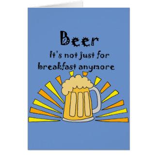 Beer Drinkers Mug and Sunrise Card