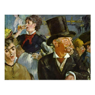 Beer Drinking - Edouard Manet Postcard