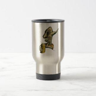 Beer Drinking Troll Coffee Mugs