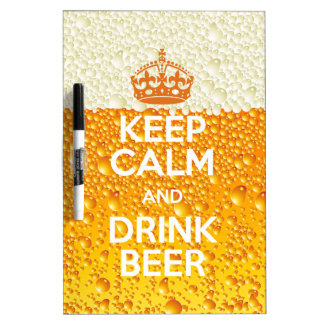 Beer Dry Erase Whiteboard