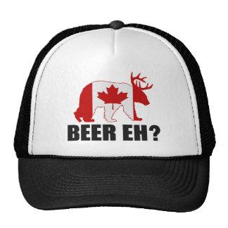 BEER EH?  Funny Canadian Beer Hat