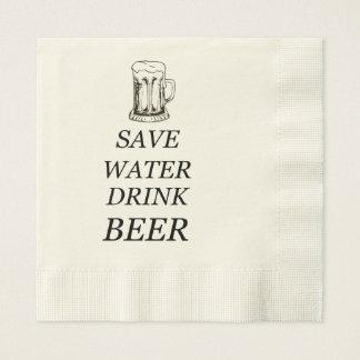 Beer Food Drink Disposable Napkins
