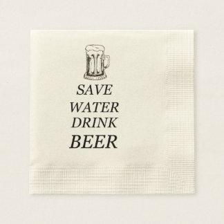 Beer Food Drink Paper Napkins