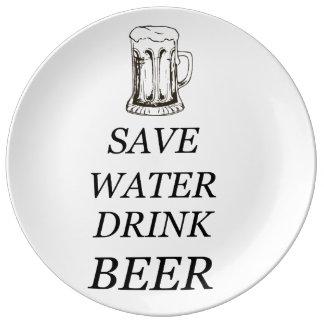 Beer Food Drink Plate