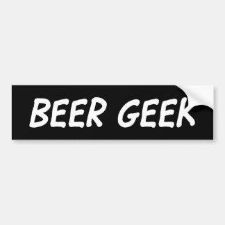 Beer Geek - Sticker Bumper Sticker