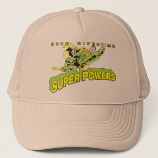 beer gives me superpowers trucker hat