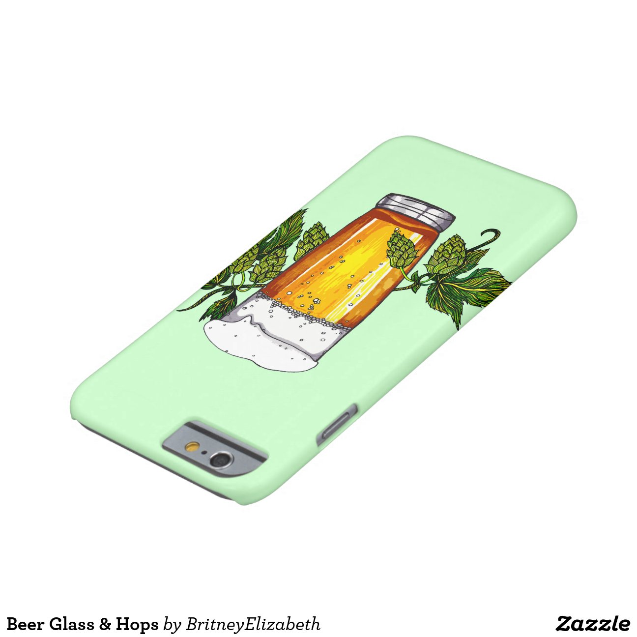 when was the first iphone invented glass amp hops barely there iphone 6 zazzle 8515