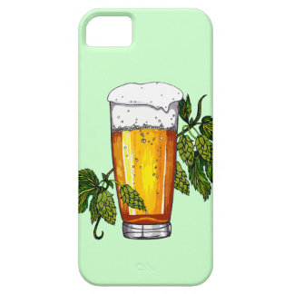 Beer Glass & Hops iPhone 5 Cover