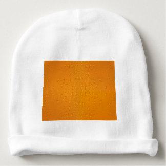 Beer glass macro pattern 8868 baby beanie